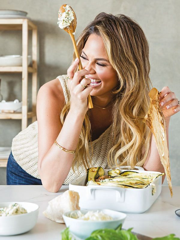 Chrissy Teigen goes all out with her comfort food classics