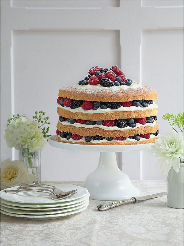 Tempting cakes and bakes