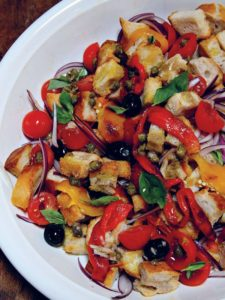 Flavourful dishes using seasonal ingredients