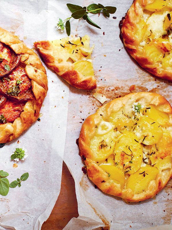 Delicious sweet and savoury bakes