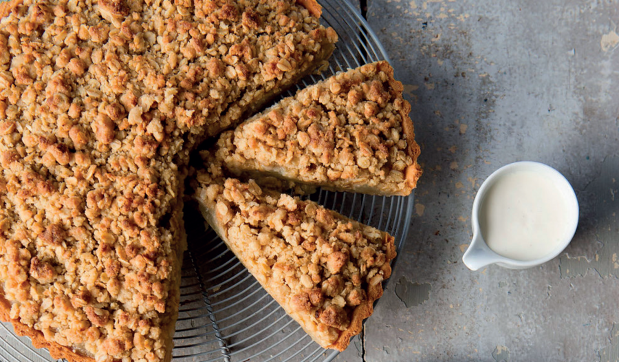 Apple Crumble Tart from The Weekend Baker