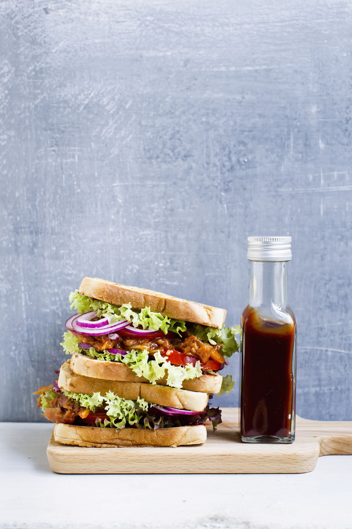 Barbecue Pulled Jackfruit Sandwich