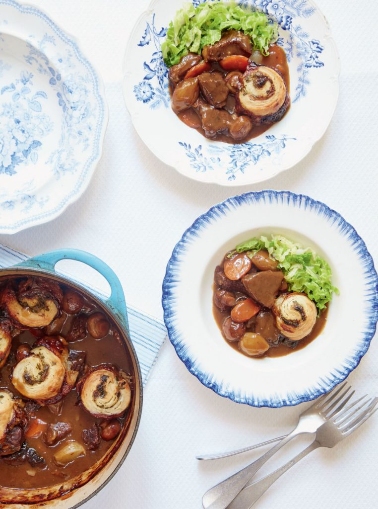 Beef and Ale Stew with Horseradish Spiral Dumplings  Mary Berry Everyday BBC2