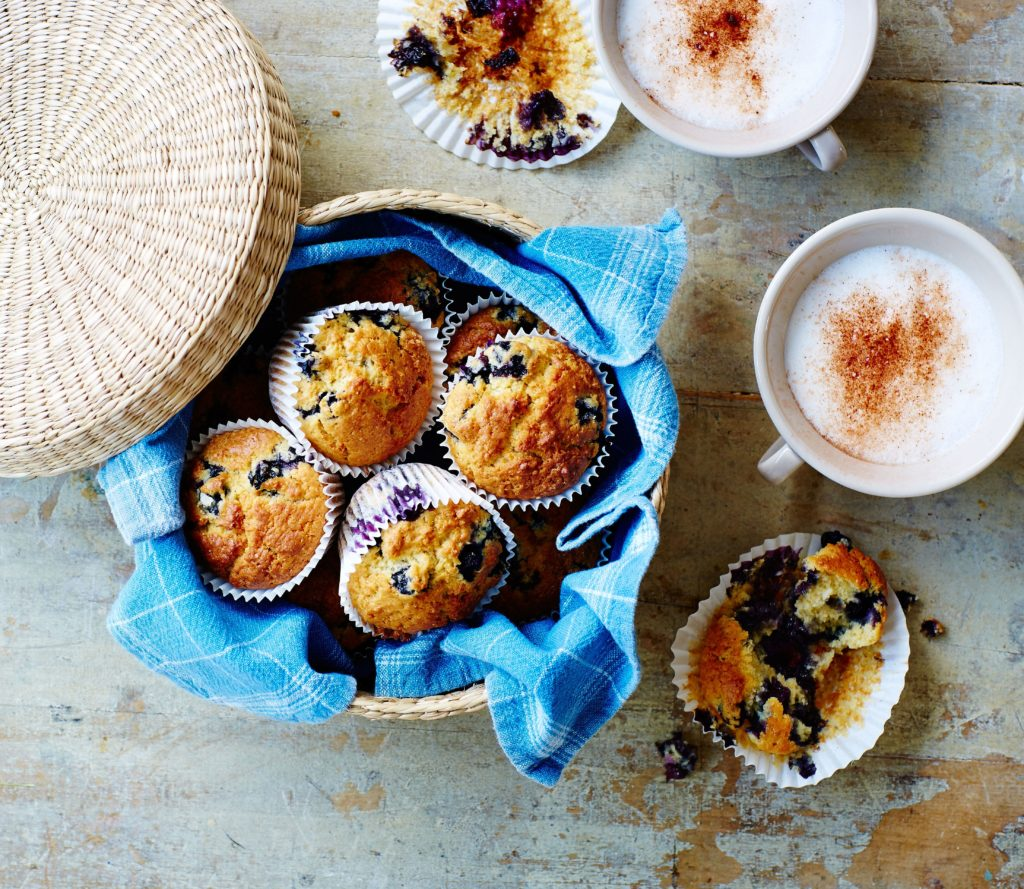 Blueberry and Amaranth Breakfast Muffins Recipe