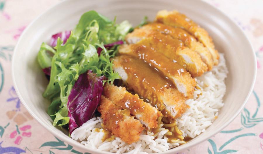 Chicken Katsu Curry from Gizzi Erskine's Kitchen Magic