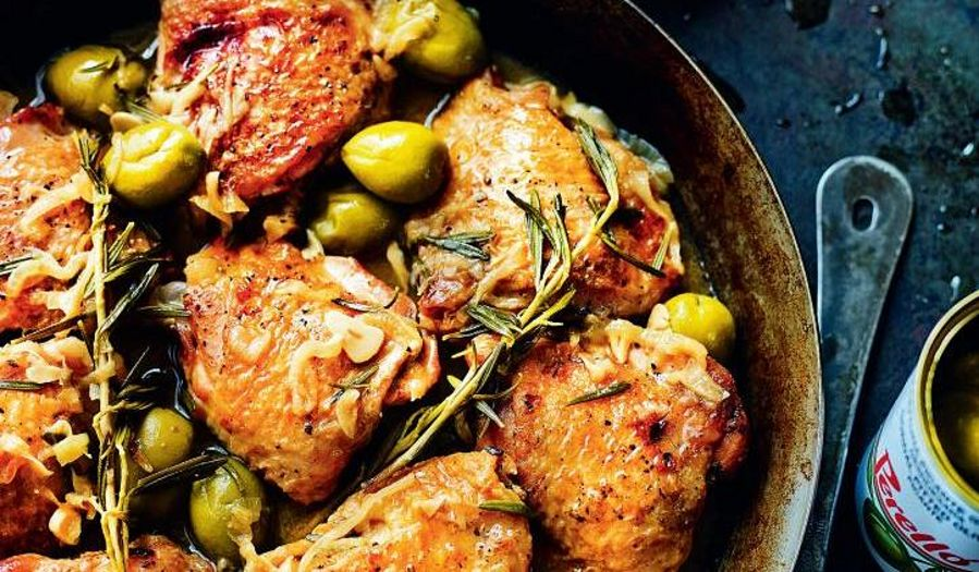 Chicken with Spanish Olives from Omar Allibhoy's Tapas Revolution