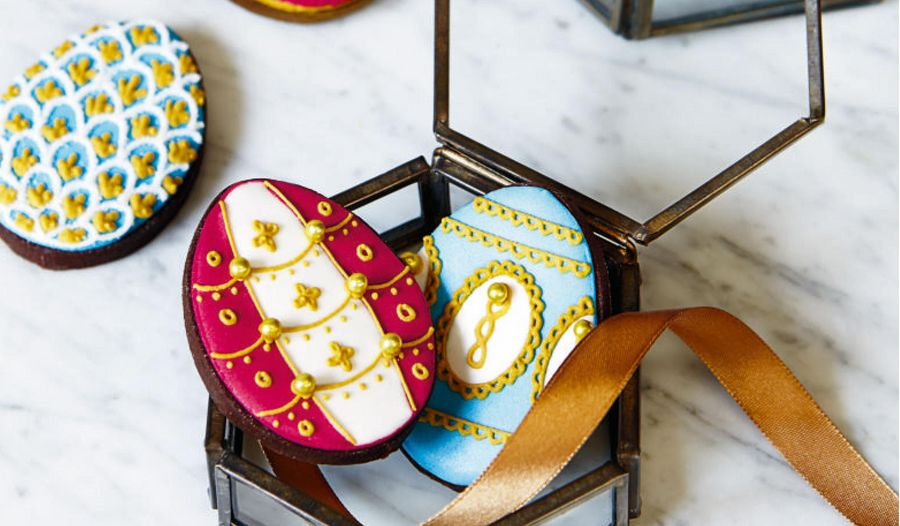 Biscuiteers Fabergé Easter Egg Biscuit Recipe