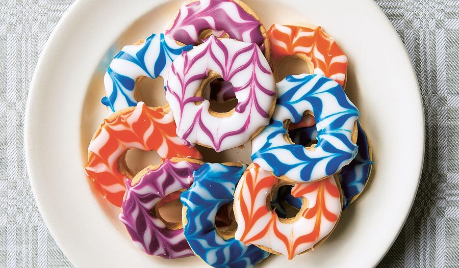 Iced Ring Biscuits
