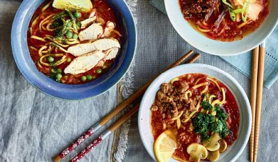 Nadiya Hussain Instant Noodles Recipe | Time to Eat