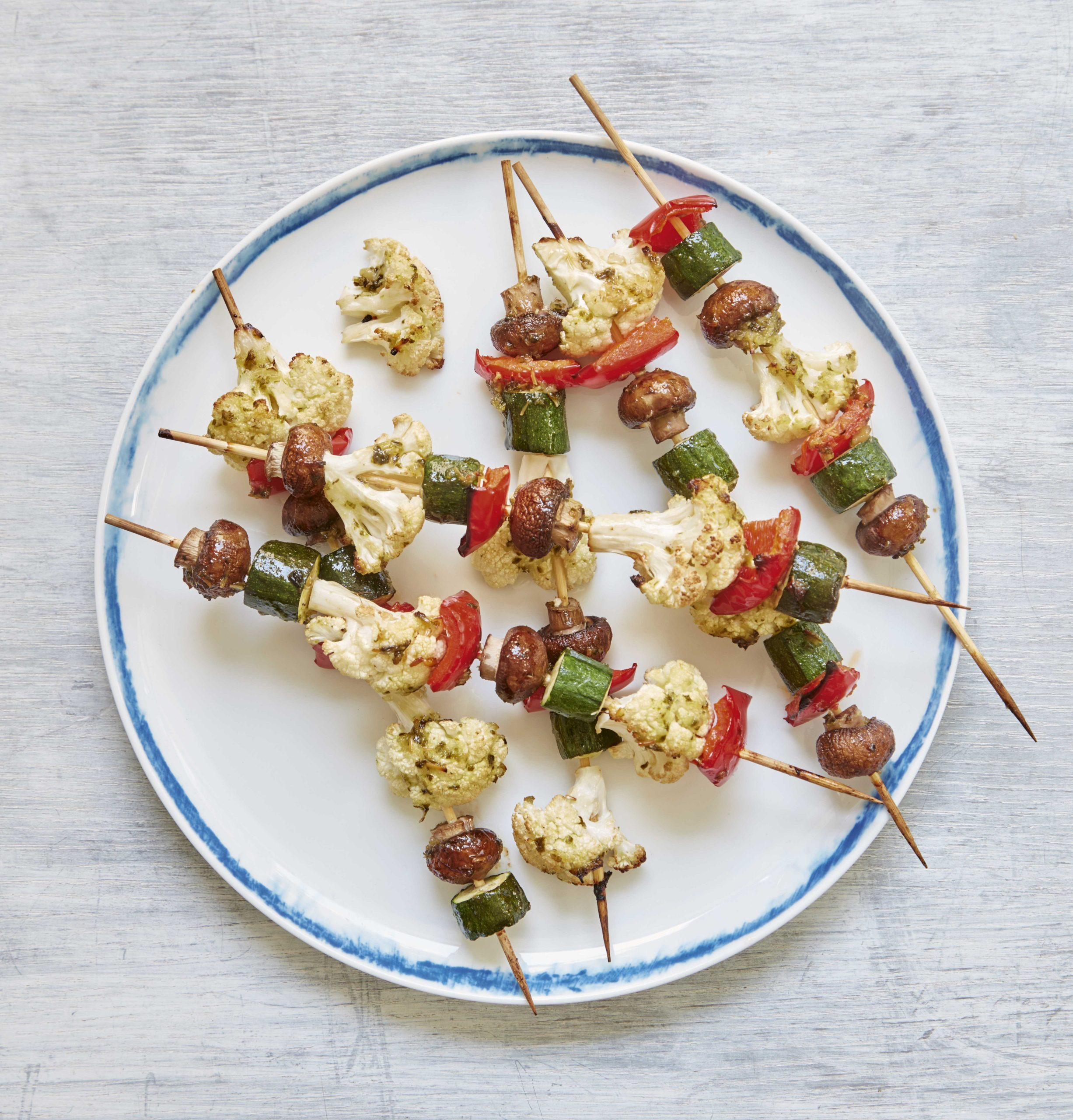 Mary Berry Vegetable Kebabs Recipe | Quick Cooking BBC 2