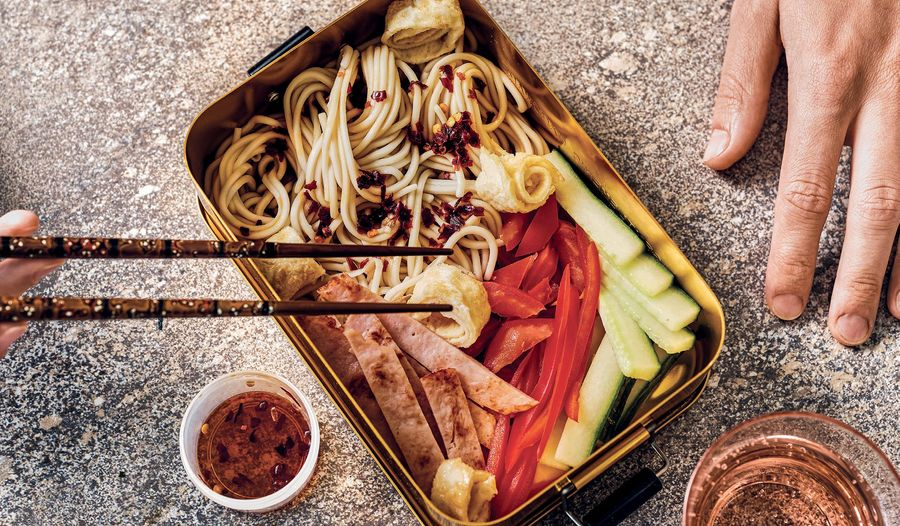 Easy Noodle Lunchbox Recipe | Quick WFH Packed Lunch