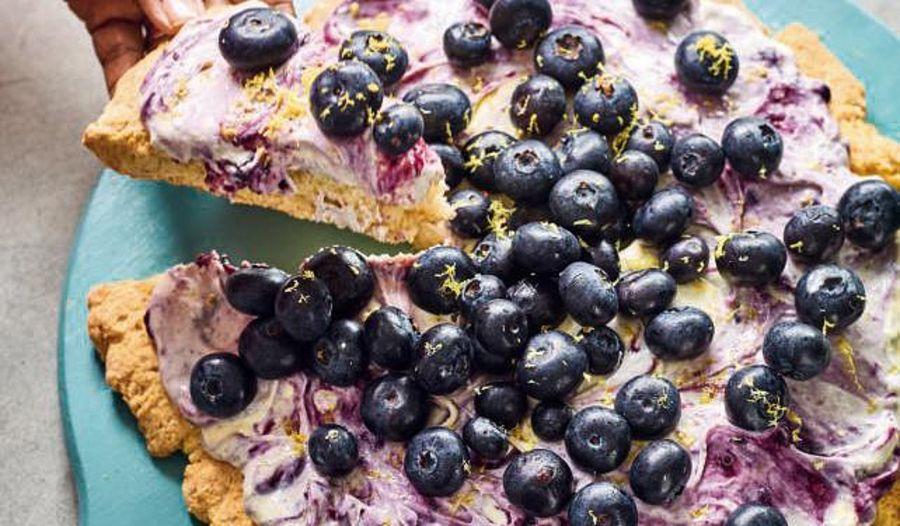 Nadiya Hussain Blueberry Scone Pizza Recipe | Nadiya Bakes BBC2