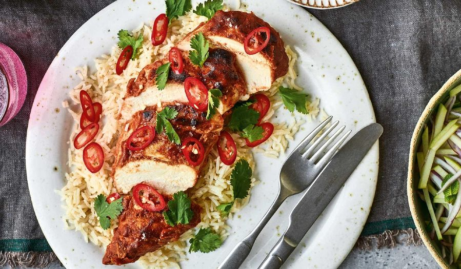 Nadiya Hussain's Tandoori-style Chicken Recipe | Time To Eat