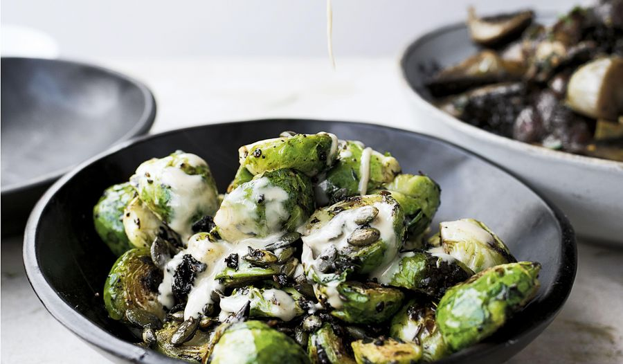 Ottolenghi Brussels Sprouts Recipe | Saturday Kitchen