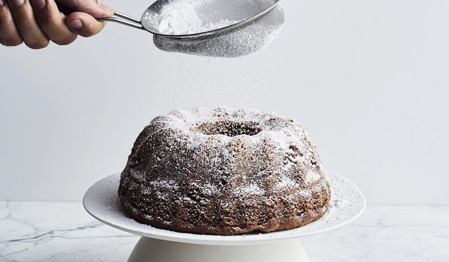 Ottolenghi's Prune and Walnut Cake with Brandy