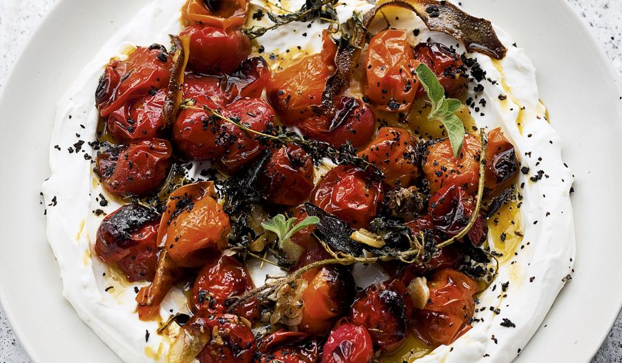 Ottolenghi Cherry Tomatoes with Yoghurt | SIMPLE recipe