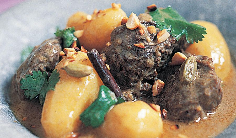 Mussaman-style Beef Curry