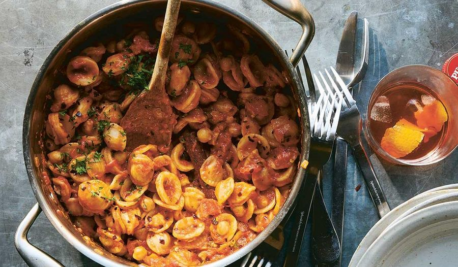 NYT Cooking Pasta with Chickpeas | One-Pot Pasta Recipe