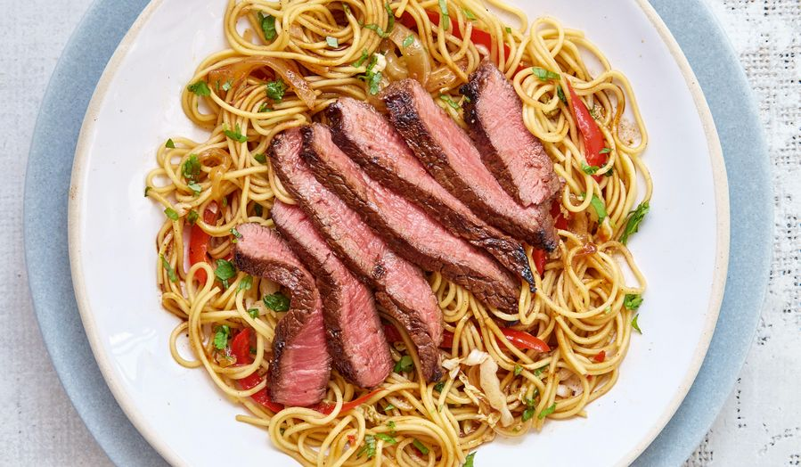 Mary Berry Asian Beef and Red Pepper Stir-Fry Recipe | BBC 2 Quick Cooking