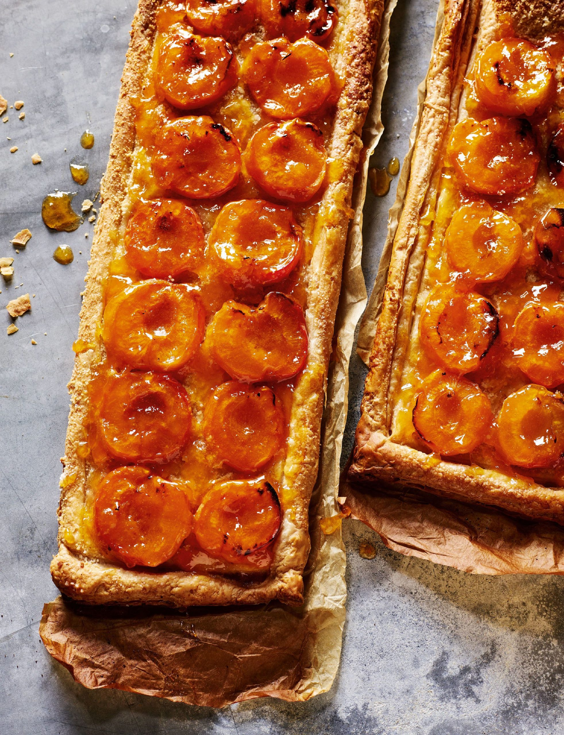 Rick Stein's French Apricot Tart |Ready-made Puff Pastry Recipe