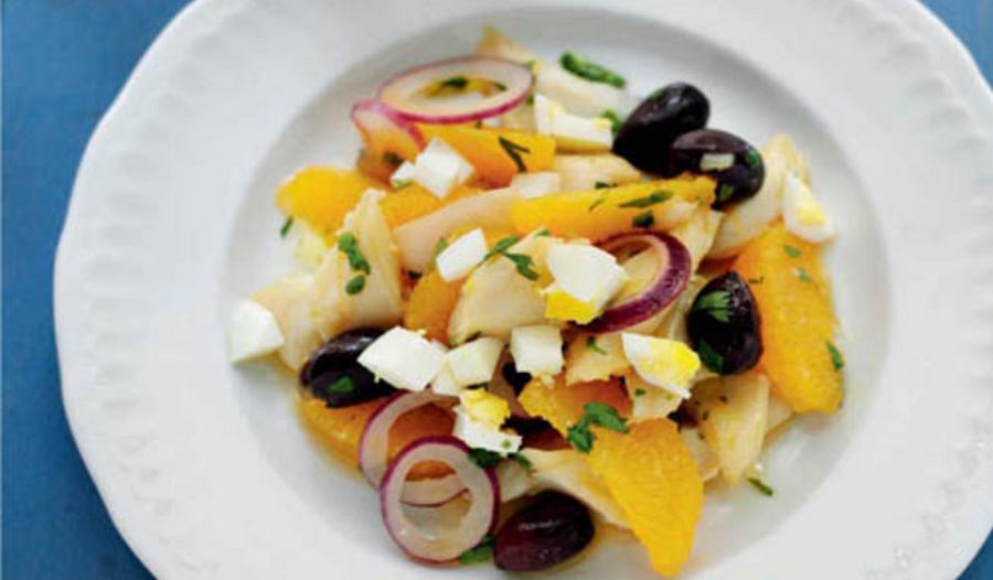Spanish Salt Cod & Orange Salad | Rick Stein
