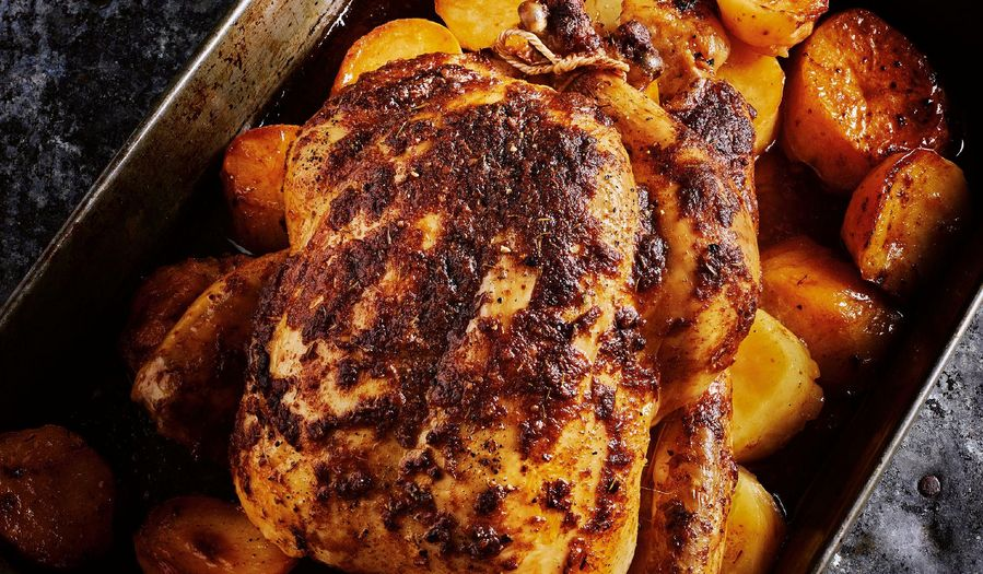 Rick Stein French Rotisserie-Style Chicken | Authentic French Recipe