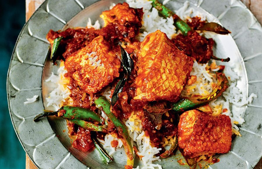 Madras Fish Curry of Snapper