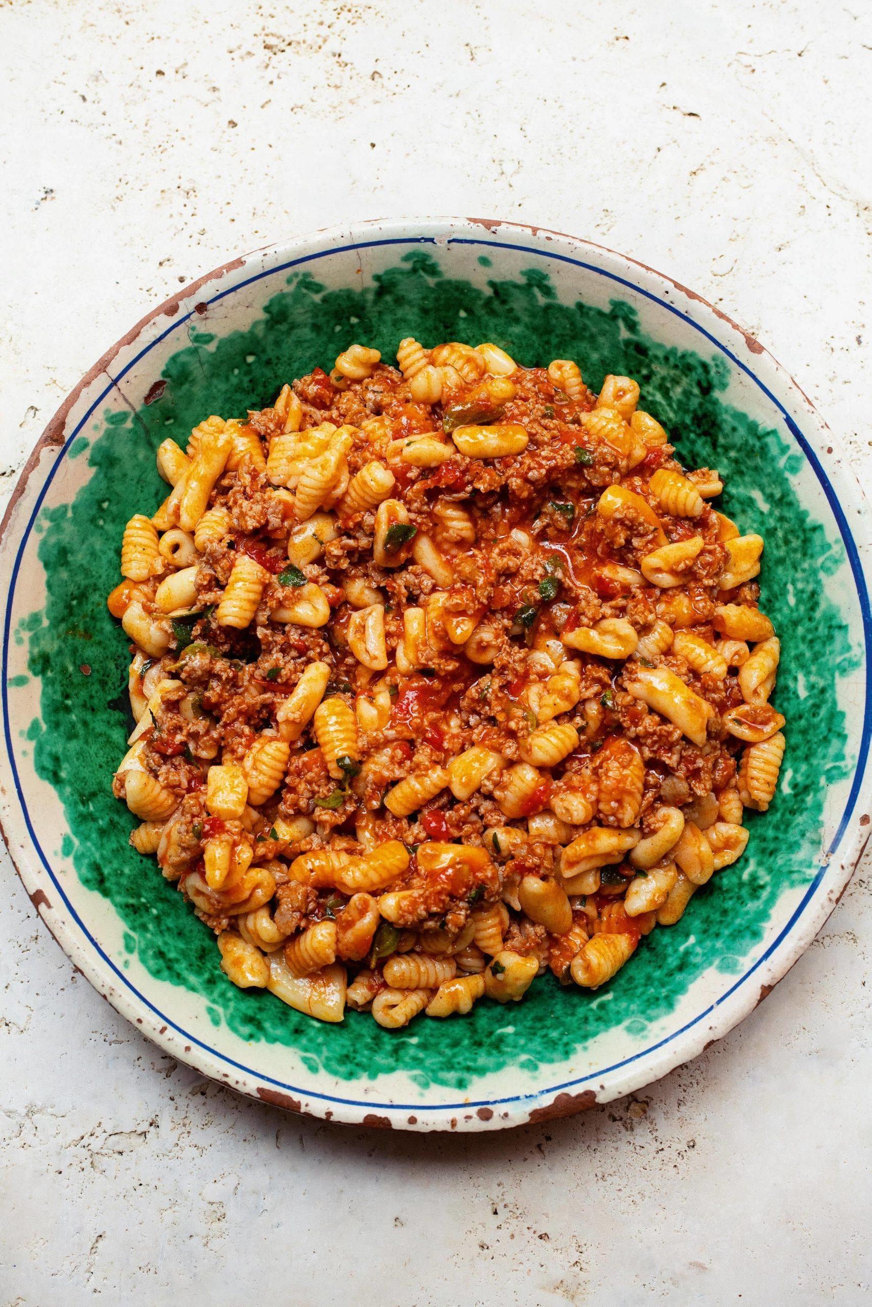 Sausage Cavatelli Pasta