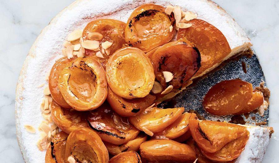 Ottolenghi's Apricot and Amaretto Cheesecake Recipe