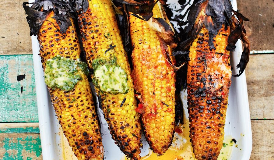 How to Cook Sweetcorn on the BBQ | Barbecued Sweetcorn Recipe