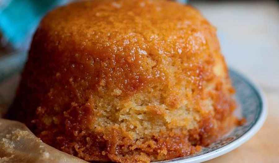 Delicious Treacle Pudding from Angela Hartnett's cookbook A Taste of Home