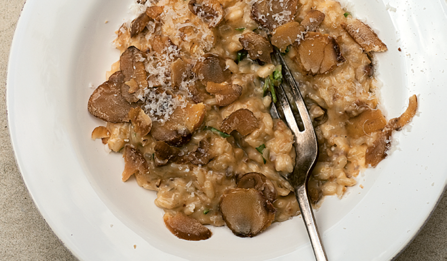 Chestnut and Truffle Risotto