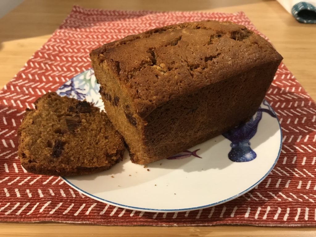 Sticky Date Gingerbread   Autumnal Baking