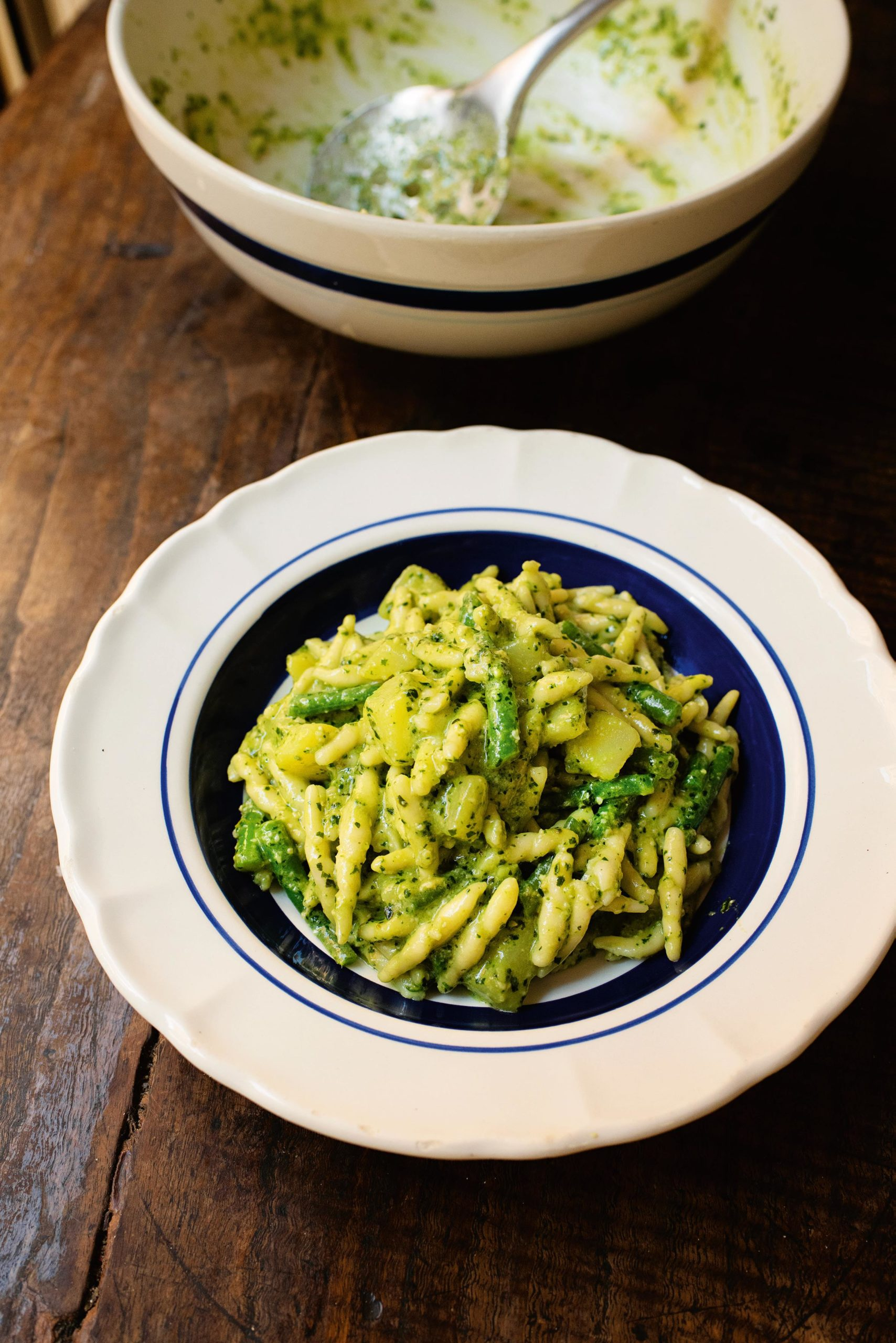 Trofie with Pesto alla Genovese
