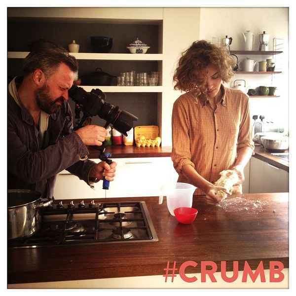 Ruby Tandoh behind-the-scenes cooking