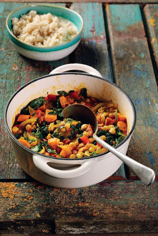 Recipes For Batch Cooking & Freezing   Caribbean Chickpea Curry