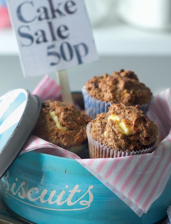 carrot cake muffins best indoor picnic recipes the great british bake off linda collister