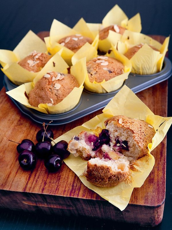 how to cook with tinned cherries cherry and almond muffins beginners get sorted