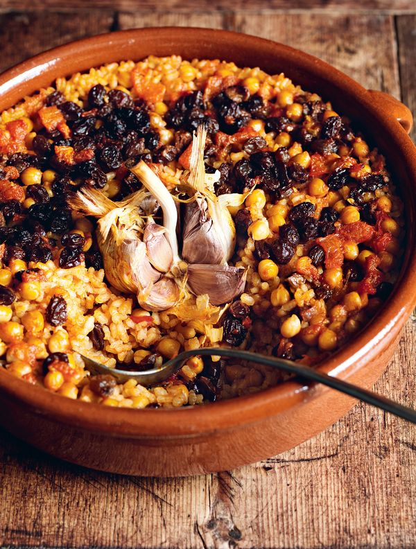 Easy Rice Store Cupboard Recipes   Claudia Roden Spanish Rice