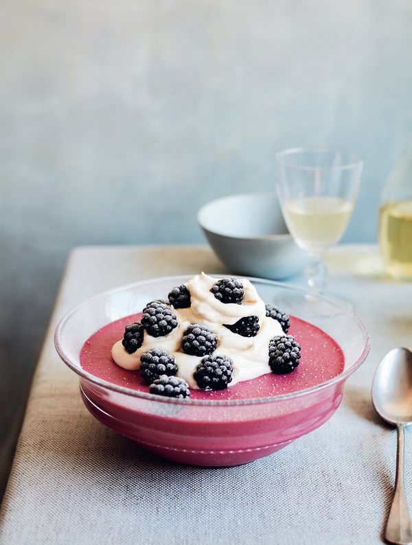 Mary Berry Wild Bramble Mousse Simple Comforts BBC2