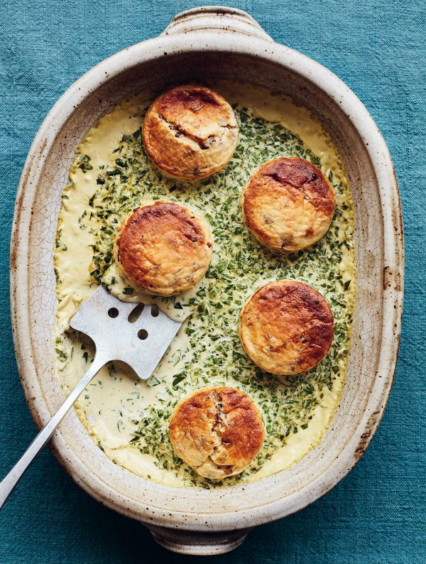 Mary Berry Double Baked Mushroom Soufflé Simple Comforts BBC2