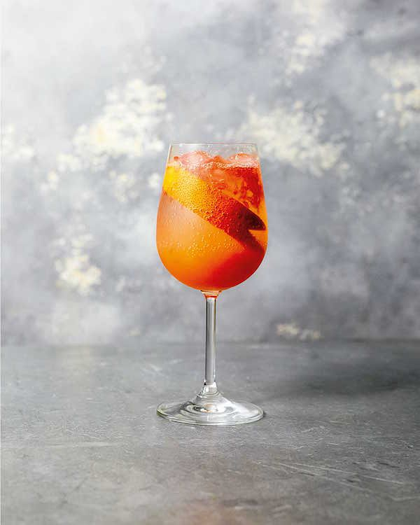 what to drink in january sherbet fizz mocktail fizz olly smith