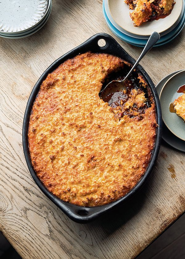 autumn recipes slow cooked chicken with corn crust ottolenghi